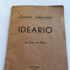 Libros de segunda mano: LIBRILLO IDEARIO ESTÁN TODAS LAS PÁGINAS. Lote 252063890