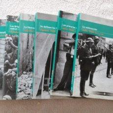 Libros de segunda mano: LA GUERRA CIVIL ESPAÑOLA MES A MES TOMOS DEL 2 AL 9 BIBLIOTECA EL MUNDO. Lote 252521060