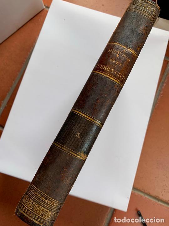 Libros de segunda mano: Historia de la Guerra Civil, liberal y carlista. 2a edicion. 1869. Indice fotografiado - Foto 11 - 253637530