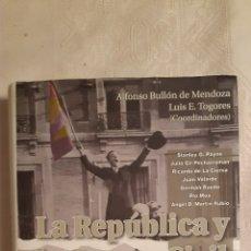 Libros de segunda mano: LA REPUBLICA Y LA GUERRA CIVIL SETENTA AÑOS DESPUES. Lote 253722715