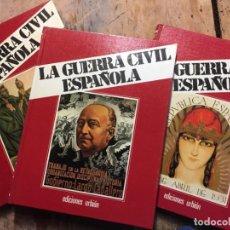 Libros de segunda mano: HUGH THOMAS LA GUERRA CIVIL ESPAÑOLA COMPLETA 12 TOMOS LA GUERRA CIVIL ESPAÑOLA. Lote 254213475