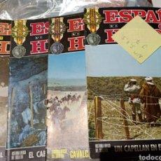 Libros de segunda mano: ESPAÑA EN SUS HÉROES NÚMEROS 3, 4, 7 Y 11 GUERRA MARRUECOS. Lote 254341445