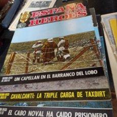 Libros de segunda mano: ESPAÑA EN SUS HÉROES 4 NÚMEROS 3, 4, 5 Y, 7. Lote 254342330