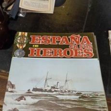 Libros de segunda mano: ESPAÑA EN SUS HÉROES NÚMERO 11 SEIS EJEMPLARES. Lote 254343165