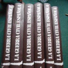Libros de segunda mano: LA GUERRA CIVIL ESPAÑOLA EDICIONES URBIÓN 6 TOMOS POR HUG THOMAS. Lote 254484555
