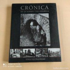 Libros de segunda mano: CRONICA DE LA GUERRA CIVIL ESPAÑOLA. PLAZA & JANES. 1996. PAGS. 345. Lote 254539000