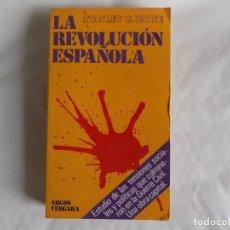 Livres d'occasion: LIBRERIA GHOTICA. STANLEY G. PAYNE. LA REVOLUCIÓN ESPAÑOLA. 1977. PRIMERA EDICIÓN.. Lote 255354525