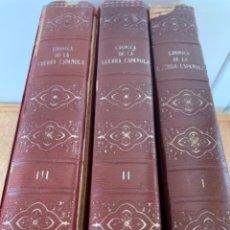 Libros de segunda mano: CRÓNICA DE LA GUERRA ESPAÑOLA NO APTA PARA IRRECONOCIBLES. Lote 255388775