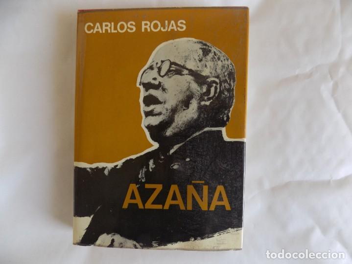 LIBRERIA GHOTICA. CARLOS ROJAS. AZAÑA. 1973. BIOGRAFIA. (Libros de Segunda Mano - Historia - Guerra Civil Española)