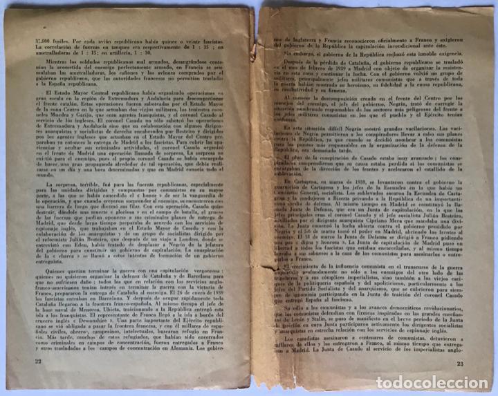 Libros de segunda mano: LA GUERRA NACIONAL REVOLUCIONARIA DEL PUEBLO ESPAÑOL (Apuntes para la historia). - IBARRURI, Dolores - Foto 4 - 260667080