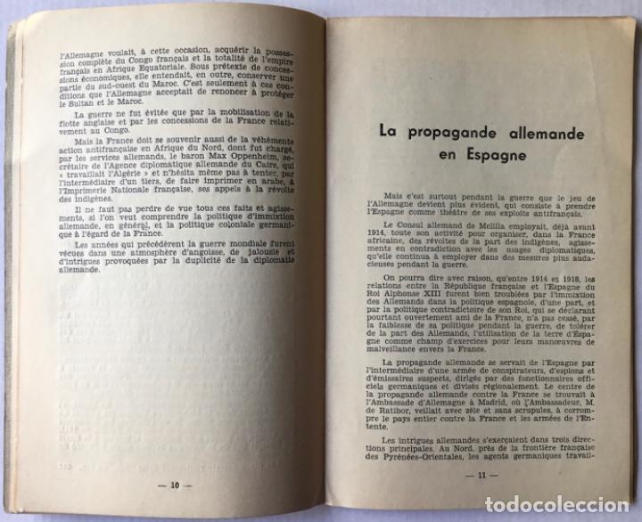 Libros de segunda mano: DERRIERE LES COULISSES DE LA GUERRE DESPAGNE. Daprès les documents inédits des archives secrétes.. - Foto 3 - 260668535
