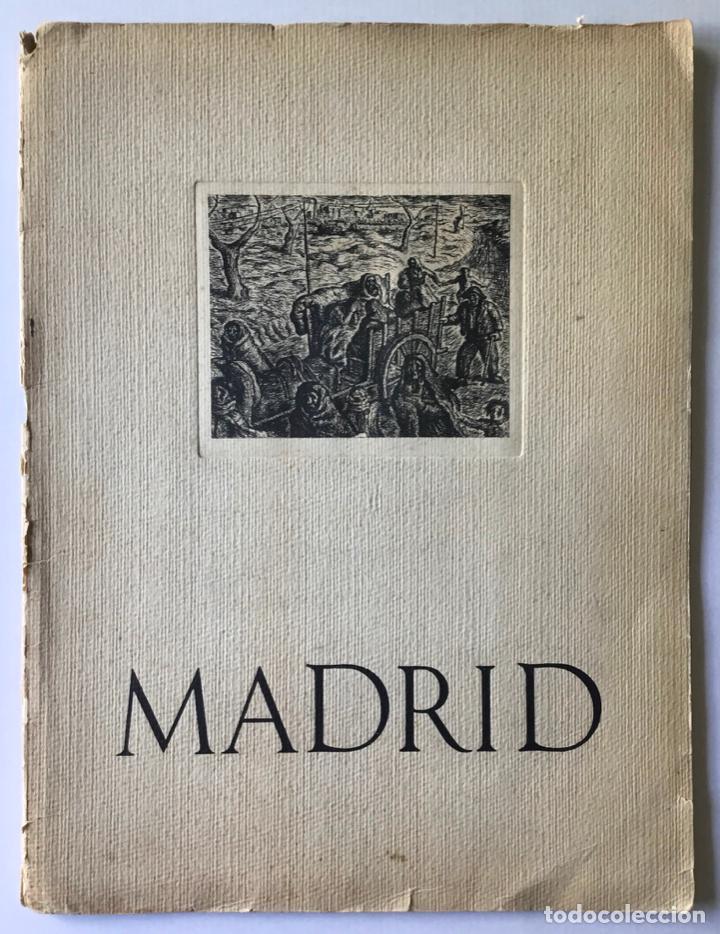 MADRID. ALBUM DE HOMENAJE A LA GLORIOSA CAPITAL DE ESPAÑA. (Libros de Segunda Mano - Historia - Guerra Civil Española)