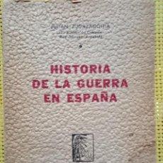 Libros de segunda mano: HISTORIA DE LA GUERRA EN ESPAÑA, JULIÁN ZUGAZAGOITIA 1940 PRIM. EDICIÓN - ÚNICO EN ESTAS CONDICIONES. Lote 261268285