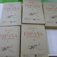 Libros de segunda mano: HORA DE ESPAÑA. REVISTA MENSUAL. EDITORIAL TOPOS VERLAG AG 1977. 5 TOMOS - N13. Lote 261356415