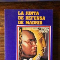 Libros de segunda mano: LA JUNTA DE LA DEFENSA DE MADRID. NOVIEMBRE 1936-ABRIL 1937. JULIO ARÓSTEGUI Y JESÚS A.MARTÍNEZ.. Lote 261630905