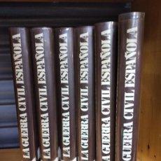 Libros de segunda mano: LA GUERRA CIVIL ESPAÑOLA. HUGH THOMAS. 6 VOLUMENES. EDICIONES URBION, 1980. Lote 262244200