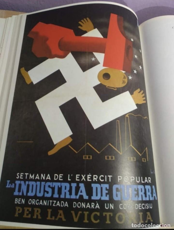 Libros de segunda mano: Carteles de la Guerra Civil Española - Foto 3 - 262861690