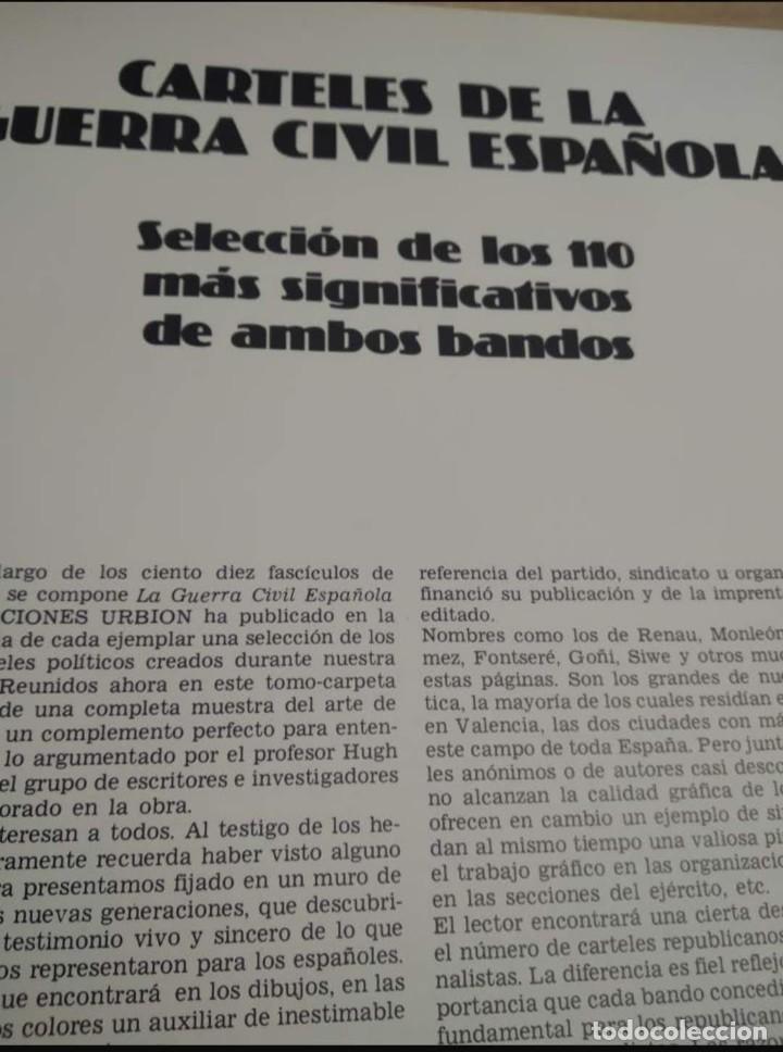 Libros de segunda mano: Carteles de la Guerra Civil Española - Foto 5 - 262861690