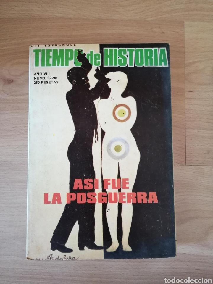 TIEMPO DE HISTORIA / ASÍ FUE LA POSGUERRA (Libros de Segunda Mano - Historia - Guerra Civil Española)