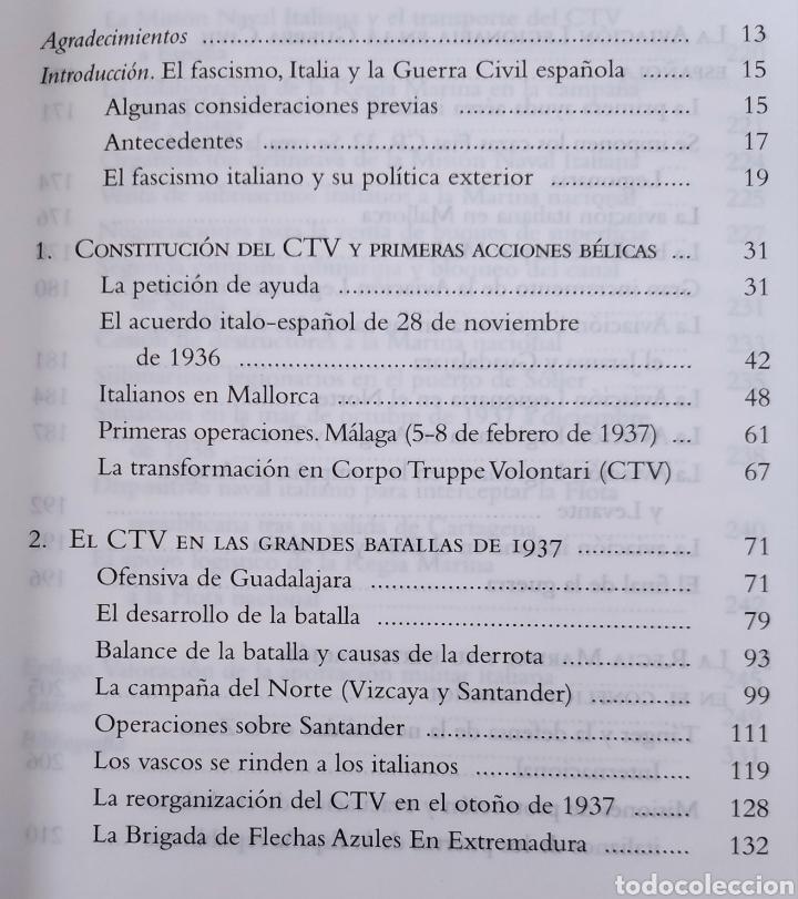 Libros de segunda mano: ESPAÑA LIBRO MILITARES ITALIANOS EN LA GUERRA CIVIL ESPAÑOLA - Foto 2 - 262904280