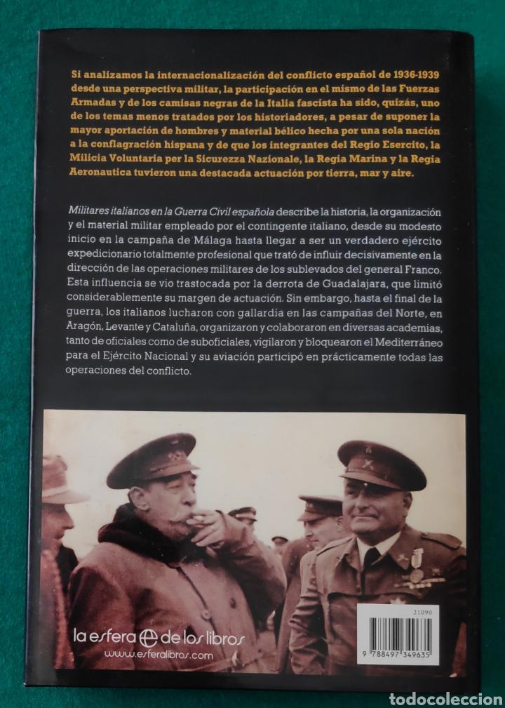Libros de segunda mano: ESPAÑA LIBRO MILITARES ITALIANOS EN LA GUERRA CIVIL ESPAÑOLA - Foto 6 - 262904280