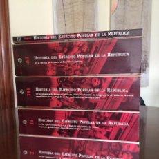 Libros de segunda mano: HISTORIA DEL EJÉRCITO POPULAR DE LA REPUBLICA COMPLETA EN 4 TOMOS Y ANEXO - RAMÓN SALAS LARRAZÁBAL. Lote 262913740