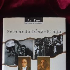 Libros de segunda mano: ANECDOTARIO DE LA GUERRA CIVIL ESPAÑOLA - FERNANDO DIAZ PLAJA - PLAZA & JANÉS 1996. Lote 262915560