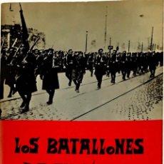 Libros de segunda mano: LOS BATALLONES DE EUSKADI. MIGUEL DE AMILIBIA.. Lote 262975965
