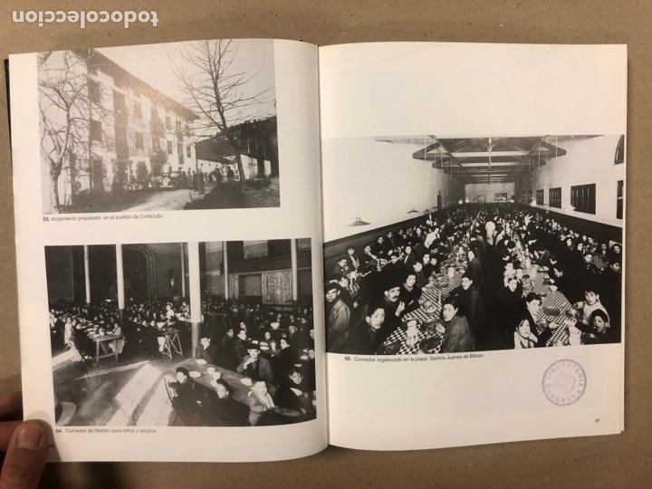 Libros de segunda mano: NIÑOS VASCOS EVACUADOS EN 1937.ÁLBUM HISTÓRICO POR GREGORIO ARRIEN. - Foto 7 - 264554359