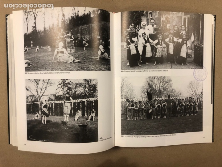 Libros de segunda mano: NIÑOS VASCOS EVACUADOS EN 1937.ÁLBUM HISTÓRICO POR GREGORIO ARRIEN. - Foto 12 - 264554359