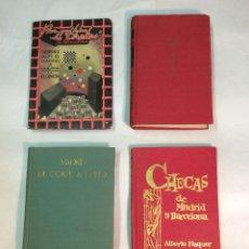 "Libros de segunda mano: LOTE ""CHECAS"" (4 LIBROS). Lote 265863414"