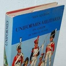 Livros em segunda mão: UNIFORMES MILITARES EN COLOR DE TODO EL MUNDO PREBEN KANNIK : TRADUCCIÓN FERNANDO CALLEJA. LIBRERÍA. Lote 265882418