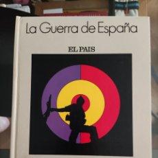 Libros de segunda mano: EL PAIS - LA GUERRA DE ESPAÑA 1936-1939. Lote 268439214