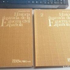 Libros de segunda mano: HISTORIA ILUSTRADA DE LA GUERRA CIVIL ESPAÑOLA / 2 TOMOS / RICARDO DE LA CIERVA / ED. DANAE 1976. Lote 269044238
