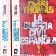 Libros de segunda mano: LA GUERRA CIVIL ESPAÑOLA. 2 TOMOS. EDICION INTEGRA, CORREGIDA Y AUMENTADA -THOMAS, HUGH - A-GCV-2244. Lote 269149298