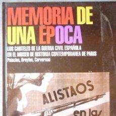 Libros de segunda mano: MEMORIA DE UNA EPOCA - LUIS PALACIOS BAÑUELOS. Lote 269797683
