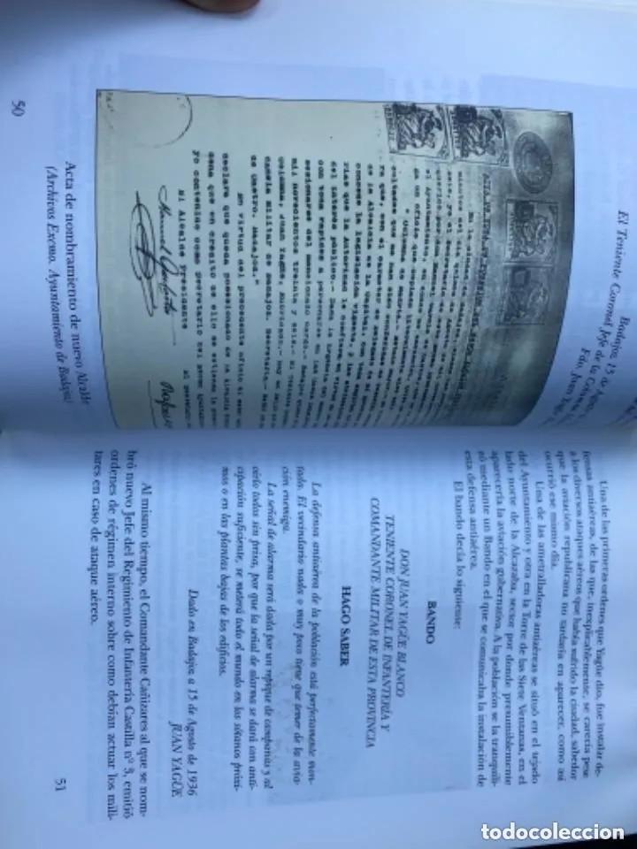 Libros de segunda mano: LIBRO LA REPRESIÓN EN BADAJOZ - Foto 5 - 269948518