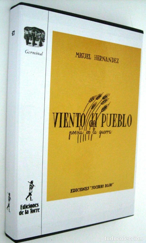 VIENTO DEL PUEBLO - MIGUEL HERNANDEZ (Libros de Segunda Mano - Historia - Guerra Civil Española)
