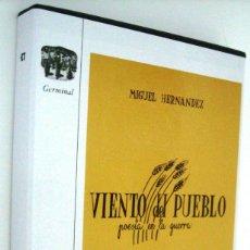 Libros de segunda mano: VIENTO DEL PUEBLO - MIGUEL HERNANDEZ. Lote 271447488