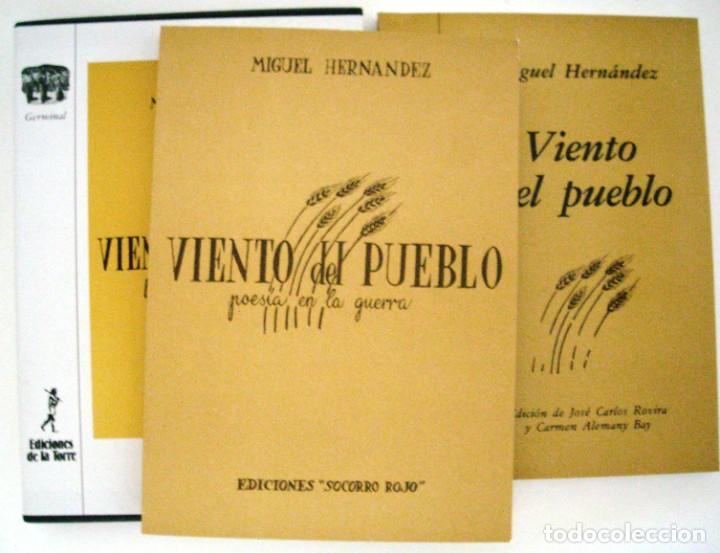 Libros de segunda mano: VIENTO DEL PUEBLO - MIGUEL HERNANDEZ - Foto 2 - 271447488