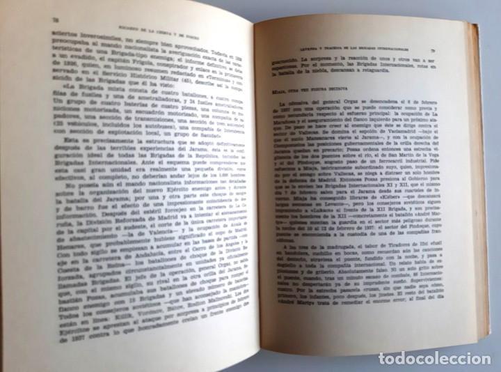 Libros de segunda mano: LEYENDA Y TRAGEDIA DE LAS BRIGADAS INTERNACIONALES - RICARDO DE LA CIERVA - 1971 - Foto 5 - 271448438