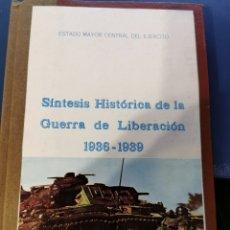 Libros de segunda mano: SÍNTESIS HISTÓRICA DE LA GUERRA DE LIBERACIÓN 1936-1939. Lote 271977373