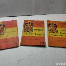 Libros de segunda mano: BIBLIOTECA INFANTIL-LA RECONQUISTA DE ESPAÑA-POR TEBIB ARRUMI 1940. Lote 273460313