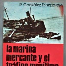 Livros em segunda mão: LA MARINA MERCANTE Y EL TRÁFICO MARÍTIMO EN LA GUERRA CIVIL. RAFAEL GONZÁLEZ ECHEGARAY. Lote 275959653