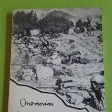 Livros em segunda mão: MEMORIAS DE UNA GUERRA, SALVADOR ESTAPÉ. Lote 276528588