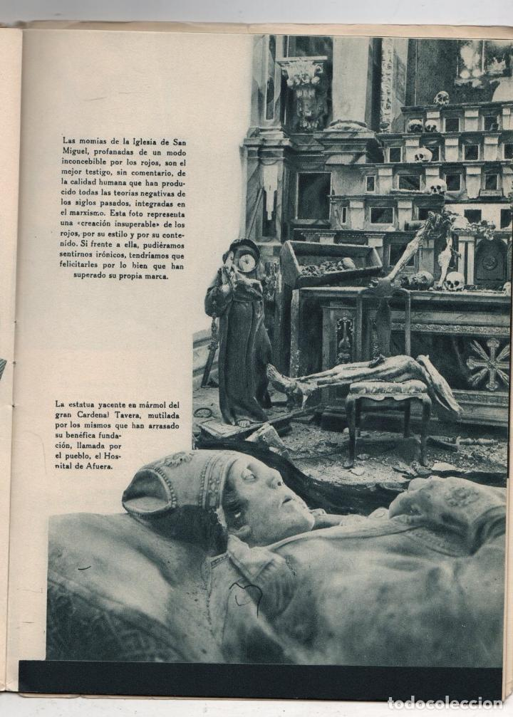 Libros de segunda mano: EL ALCAZAR. GUERRA CIVIL ESPAÑOLA. DESASTRES EN EL ALCAZAR DE TOLEDO. EDITORA NACIONAL. AÑO 1939 - Foto 4 - 277003008