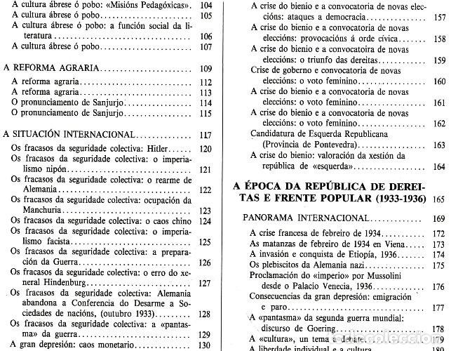 Libros de segunda mano: A EPOCA DA II REPUBLICA VISTA POR CARLOS MASIDE. MARIA ESTHER RODRIGUEZ LOSADA. GALICIA. - Foto 8 - 277196888