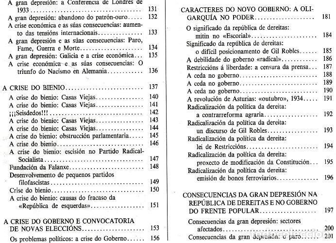 Libros de segunda mano: A EPOCA DA II REPUBLICA VISTA POR CARLOS MASIDE. MARIA ESTHER RODRIGUEZ LOSADA. GALICIA. - Foto 9 - 277196888