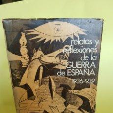 Livros em segunda mão: RELATOS Y REFLEXIONES DE LA GUERRA DE ESPAÑA , FRANCISCO CIUTAT DE MIGUEL , AÑO 1978. Lote 277461668