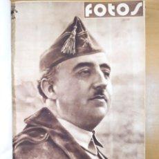 Libros de segunda mano: SEMANARIO GRAFICO NACIONALSINDICALISTA (FOTOS). AÑO 1938 / Nº 65 AL 80 ENCUADERNADOS. Lote 277627993